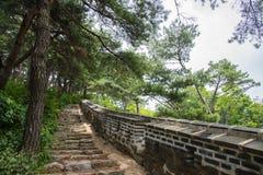 Namhan Sanseong in Corea fotografie stock libere da diritti