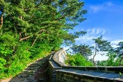 Namhansanseong Fortress in South Korea. Stock Images
