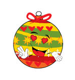 Namiętna choinki zabawki kreskówka Zdjęcie Royalty Free
