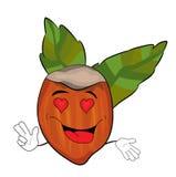 Namiętna Hazelnut kreskówka Zdjęcie Royalty Free