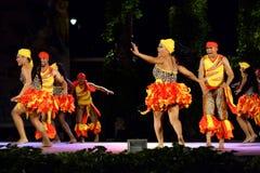Namiętny Karaibski taniec przy folkloru festiwalem obrazy royalty free
