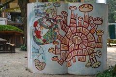 Nami Island Art lizenzfreie stockbilder