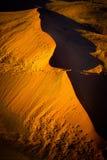Namib öken - Namibia Arkivfoto