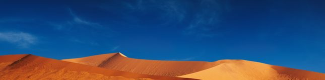 namib дюн пустыни Стоковое фото RF