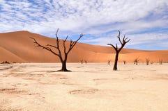 namib Намибия пустыни deadvlei Стоковая Фотография RF