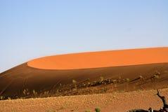 Namib Desert. The beautifil colours of tht Namib Desert stock images
