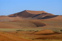 Namib Desert. The beautifil colours of tht Namib Desert Stock Photos
