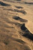 Namib Desert. Aerial view of the Namib Desert near Swakopmund Royalty Free Stock Images