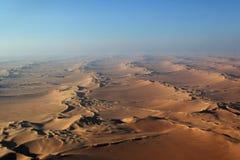 Namib Desert. Aerial view of the Namib Desert Stock Image