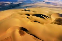 Namib desert aerial view Stock Photo