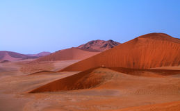 Namib desert Landscape Royalty Free Stock Images