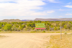 Namib desert landscape in Namibia Royalty Free Stock Photo