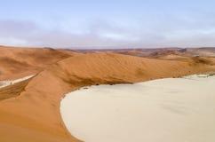 Namib desert in Namibia Royalty Free Stock Photos