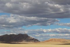 Namib desert in Namibia royalty free stock photo