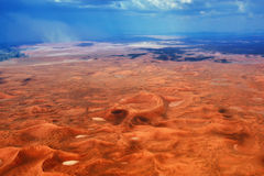 Namib desert during thunderstorm, Africa Royalty Free Stock Photos