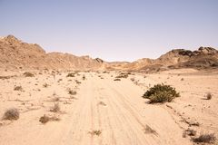 Namib Landscape Royalty Free Stock Photos