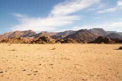 Namib-Landschaft Stockfotos