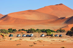 Namib-Naukluft国家公园,纳米比亚,非洲 图库摄影