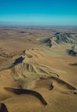 Namib-Naukluft National Park desert view from the air Stock Images