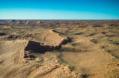 Namib-Naukluft National Park desert view from the air Royalty Free Stock Image