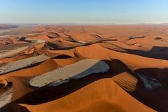Namib piaska morze - Namibia Fotografia Stock