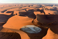 Namib piaska morze - Namibia Obraz Stock