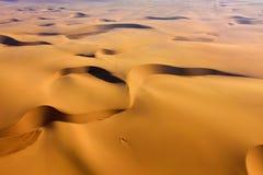 Namib pustyni widok z lotu ptaka Zdjęcie Royalty Free