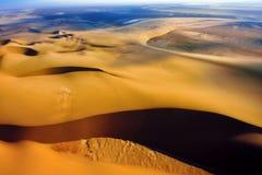 Namib pustyni widok z lotu ptaka Obrazy Stock