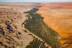 Namib pustynia - kośca wybrzeże Fotografia Royalty Free