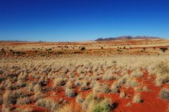Namib Rand Nature Reserve (Namibia). View over the Namib Rand Nature Reserve (Namibia stock photography