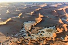 Namib sandhav - Namibia Arkivbild