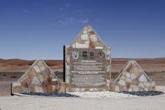 Namib sandhav - Namibia royaltyfri bild
