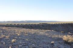 Namibië: De Vissenrivier brengt op de pensionair van de canion onder royalty-vrije stock afbeeldingen