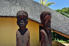 Namibië, reis Afrika stock foto