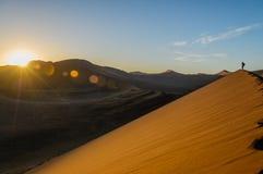 Namibië - Sossusvlei Royalty-vrije Stock Fotografie