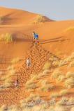 Namibië - Sossusvlei Stock Afbeelding
