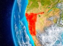 Namibia auf Erde vom Raum Stockbilder