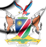 Namibia Coat of Arms. Royalty Free Stock Photography