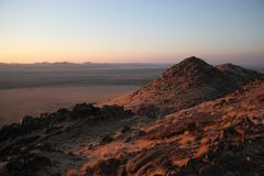 Namibia, Damaraland, Panoramic landscape, Royalty Free Stock Image