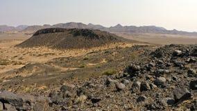 Namibia, Damaraland, Panoramiczny krajobraz, zdjęcia stock