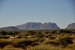 Namibia: Desert landschape near Keetmanshop. Namibia: Rural desert landschape near Keetmanshop in the South royalty free stock images