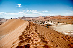 Namibia Desert, Sussusvlei, Africa Stock Images