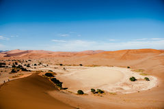 Namibia Desert, Sussusvlei, Africa Royalty Free Stock Photo