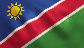 Namibia Flag Royalty Free Stock Image