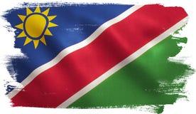 Namibia Flag Royalty Free Stock Photo