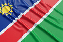 Namibia flag Royalty Free Stock Photo