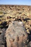 Namibia: Giants Playground near Keetmanshoop. Giants Playground near the city of Keetmanshoop in the south of Namibia Royalty Free Stock Image