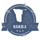 Namibia mark. Stock Image