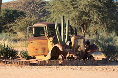 Namibia Old Cars Royalty Free Stock Images