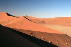 Namibia piaska diuny Obraz Stock